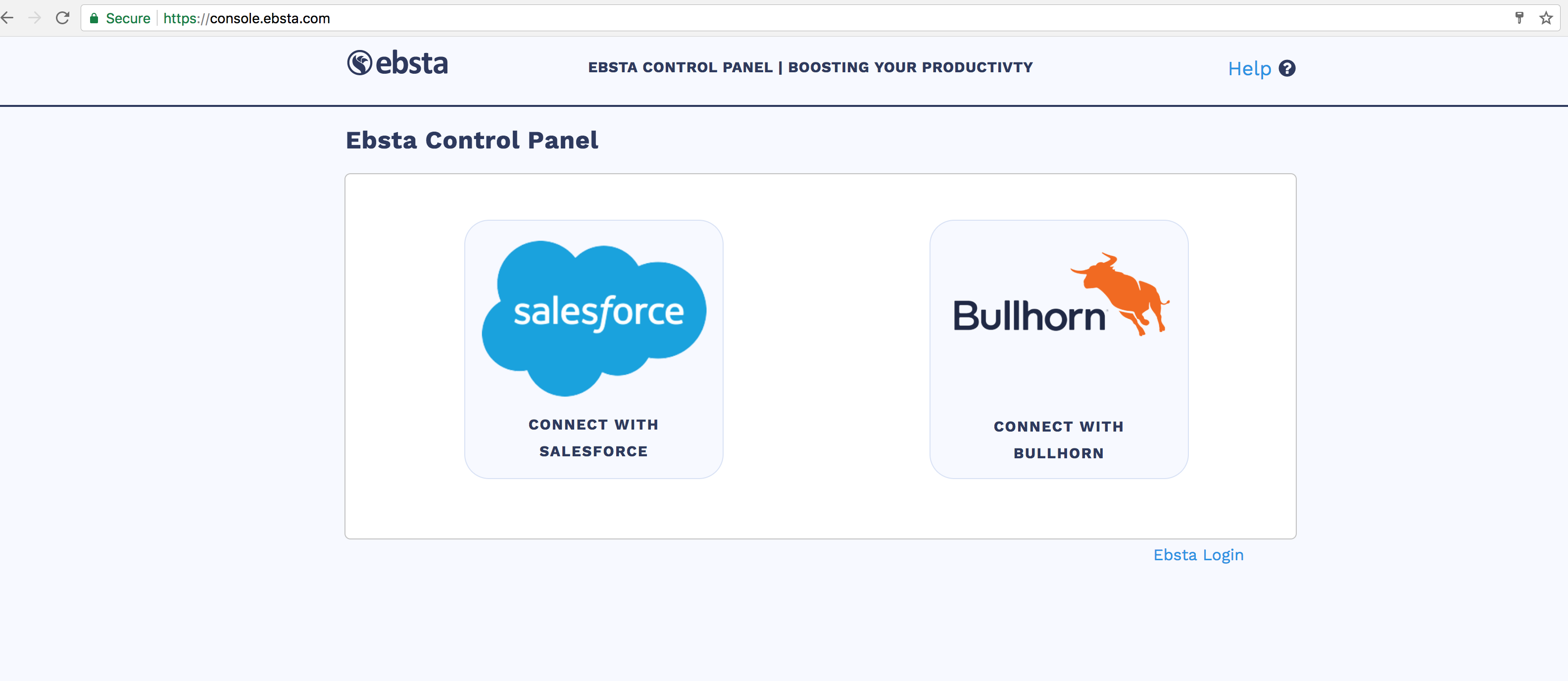 How to sync your emails to Salesforce – Ebsta Knowledge Base