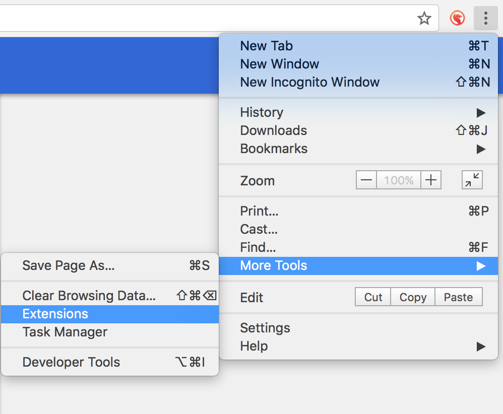 How to update Ebsta for Bullhorn's Chrome extension to run the