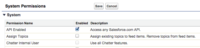 How do I enable API access in Salesforce – Ebsta Knowledge Base